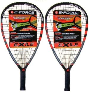 Pack de 2 raquetas de racquetball E-Force Exile