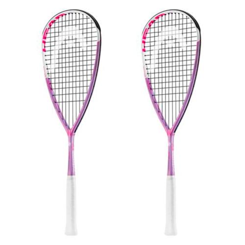 Pack de 2 raquetas de squash Head TouchSpeed 120 L