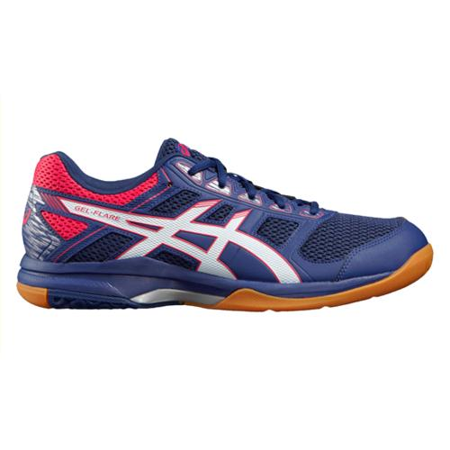 Zapatillas de squash Asics Gel Flare Blue/white