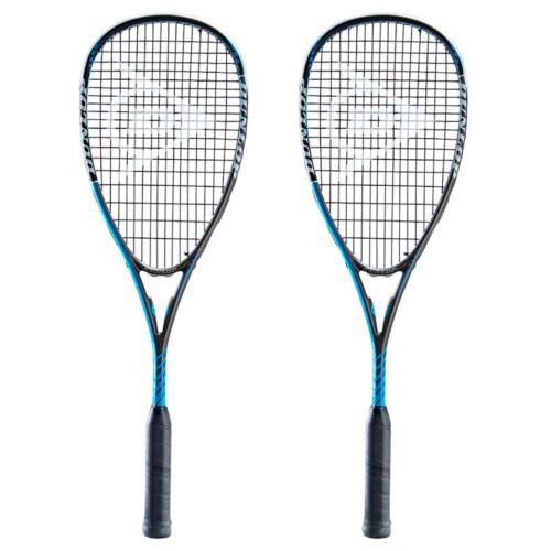 Pack de 2 raquetas de squash Dunlop Blackstorm Power 3.0