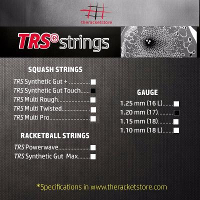 Set cordaje TRS SYNTHETIC GUT TOUCH 1.20