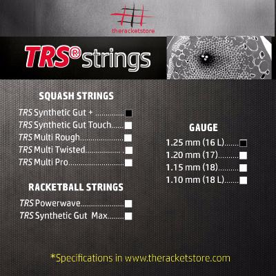 Set cordaje TRS SYNTHETIC GUT +1.25