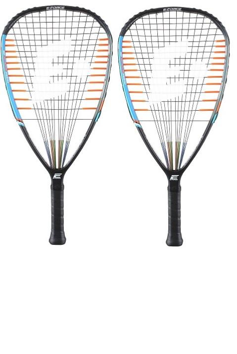 pack de 2 raquetas de racquetball E-Force Darkstar