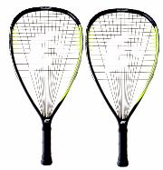 Pack de 2 raquetas de racquetball E-Force Lethal Reload 160