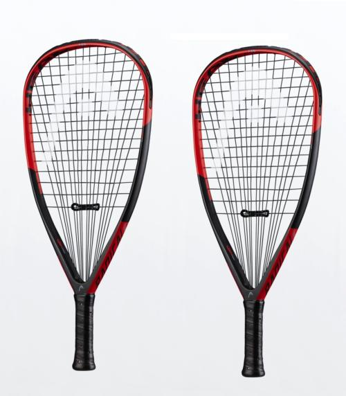 Pack de 2 Raquetas de racquetball Head Graphene Radical Edge - 175