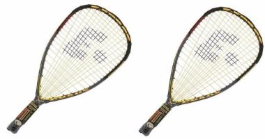 Pack de 2 raquetas de racquetball E-Force Chaos
